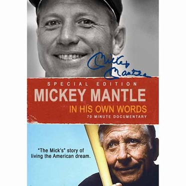 New York Yankees Mickey Mantle: In His Own Words