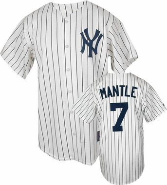 New York Yankees Mickey Mantle Replica Throwback Jersey