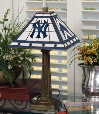 New York Yankees Mission Lamp