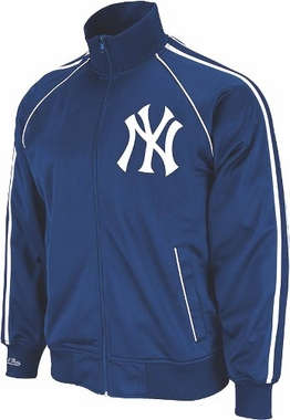 New York Yankees Mitchell & Ness Final Score Track Jacket