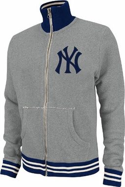 New York Yankees Mitchell & Ness Garment Washed Track Jacket