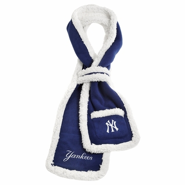 New York Yankees MLB Team Sherpa Scarf