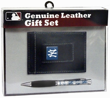 New York Yankees Money Clip and Pen Set