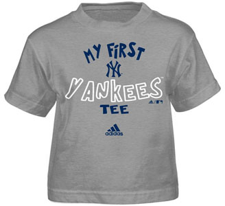 New York Yankees My First Tee Infant Shirt - 12 Months