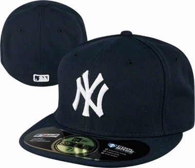 New York Yankees New Era 59Fifty Authentic Exact Fit Baseball Cap