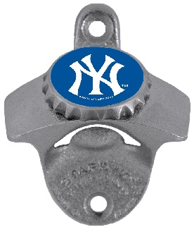 New York Yankees (NY Logo) Wall Mount Bottle Opener