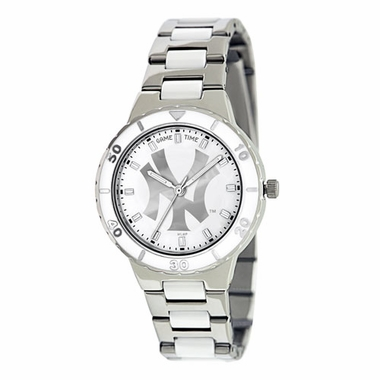 New York Yankees (NY) Women's Pearl Watch