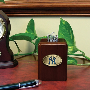New York Yankees Paper Clip Holder