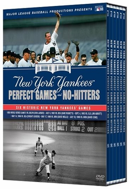 New York Yankees Perfect Games and No-Hitters DVD