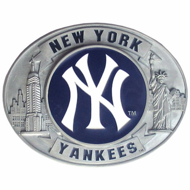 New York Yankees Enameled Belt Buckle