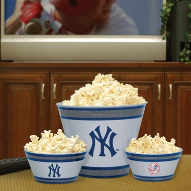 New York Yankees Plastic Serving Set