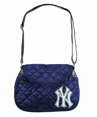 New York Yankees Quilted Saddlebag