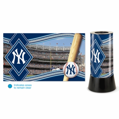 New York Yankees Rotating Lamp