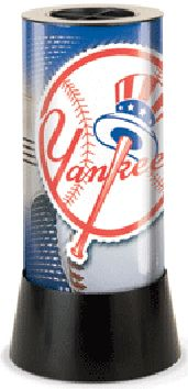 New York Yankees Rotating Lamp (Tophat)