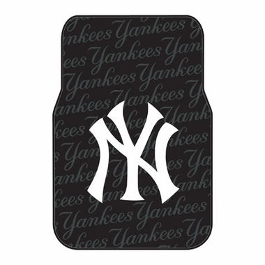 New York Yankees Set of Rubber Floor Mats