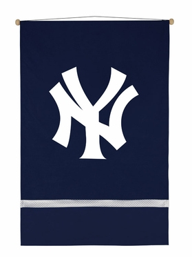 New York Yankees SIDELINES Jersey Material Wallhanging