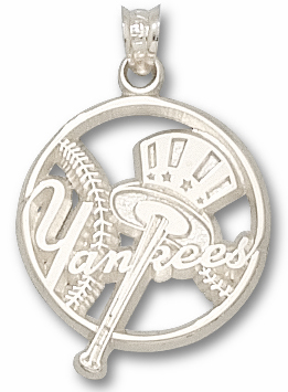 New York Yankees Sterling Silver Pendant