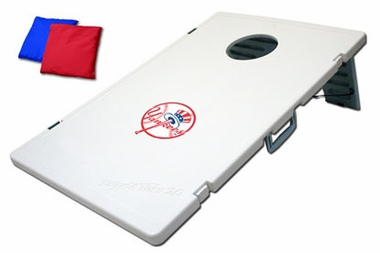 New York Yankees Tailgate Toss 2.0 Cornhole Beanbag Game