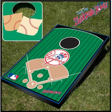 New York Yankees Tailgate Toss Cornhole Beanbag Game