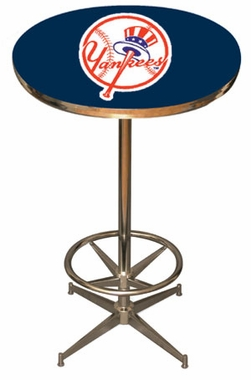 New York Yankees Team Pub Table