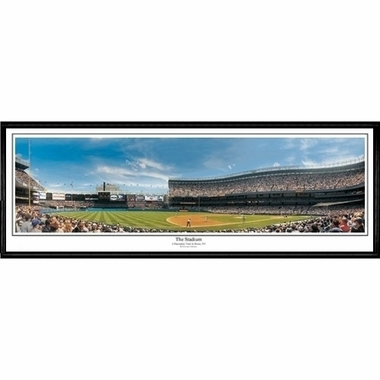 New York Yankees The Stadium Framed Panoramic Print