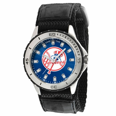 New York Yankees (Tophat) Mens Veteran Watch