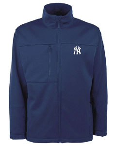 New York Yankees Mens Traverse Jacket (Team Color: Navy) - Large