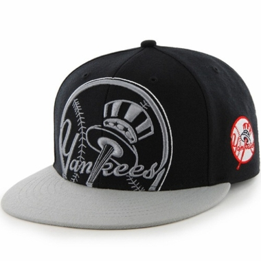 New York Yankees Two Tone Colossal Snap Back Hat