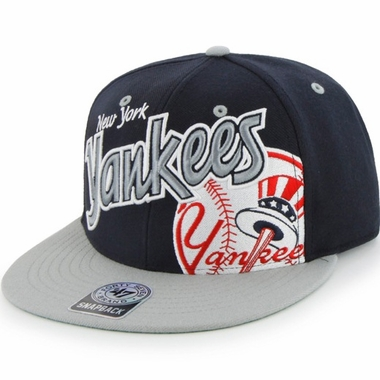 New York Yankees Underglow MVP Snap Back Hat