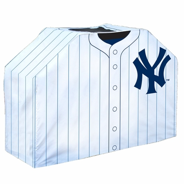 New York Yankees Uniform Grill Cover
