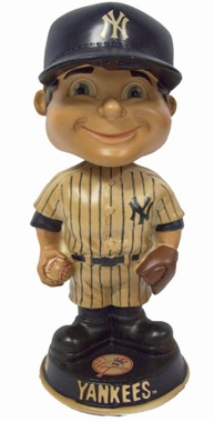New York Yankees Vintage Retro Bobble Head