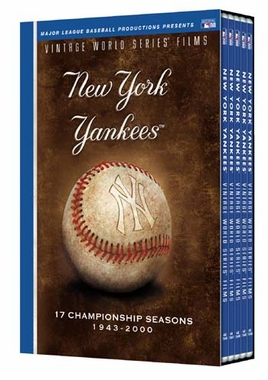 New York Yankees Vintage World Series Films DVD Set