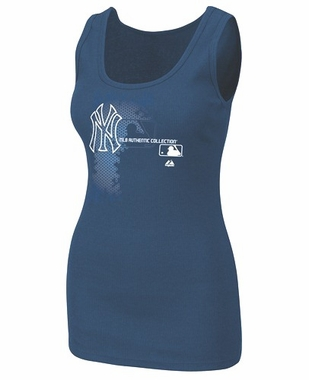 New York Yankees Womens AC Change Up Tank Top