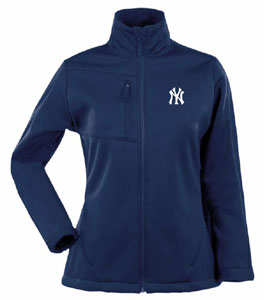 New York Yankees Womens Traverse Jacket (Team Color: Navy) - Large