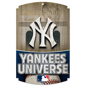 New York Yankees Wood Sign - Yankees Universe