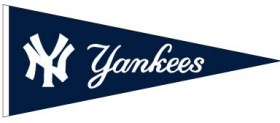 New York Yankees Wool Pennant