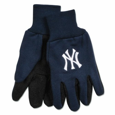 New York Yankees Work Gloves (Adult)