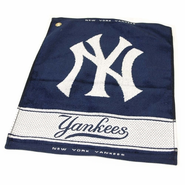 New York Yankees Woven Golf Towel