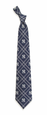 New York Yankees Woven Poly 2 Necktie