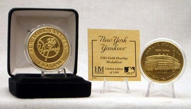 New York Yankees YANKEE STADIUM GOLD COIN