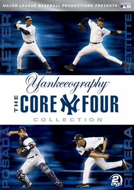 New York Yankees Yankeeography - The Core Four DVD Set
