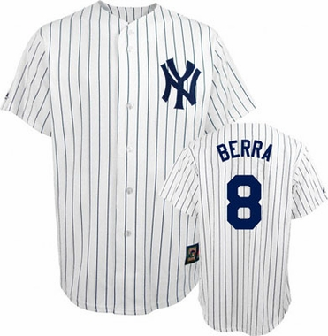 New York Yankees Yogi Berra Replica Throwback Jersey