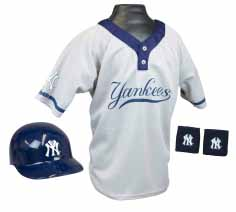 New York Yankees YOUTH Helmet and Jersey Set