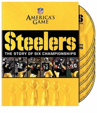 NFL America's Game Pittsburgh Steelers Story of 6 Championships DVD