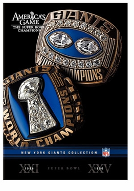 NFL Americas Game: NY Giants DVD