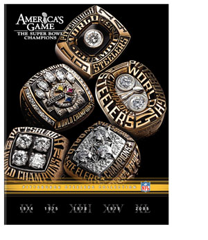 NFL Americas Game: Pittsburgh Steelers DVD Box Set