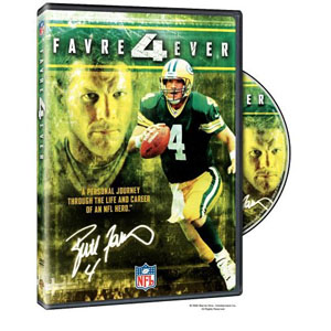 NFL Brett Favre 4 Ever DVD