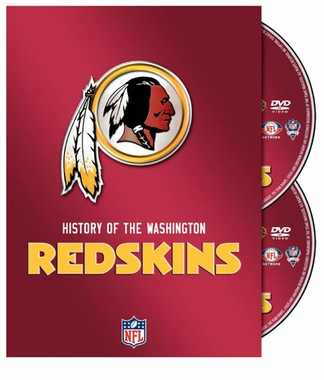 NFL: History of the Washington Redskins DVD