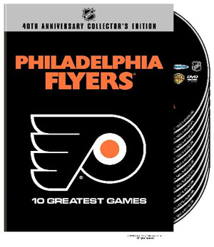 NHL Philadelphia Flyers 10 Greatest Games DVD