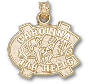 North Carolina 10K Gold Pendant
